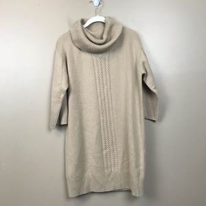 Pure collection 100% cashmere cableknit sweater